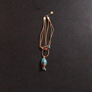 Soraya Campos three strand necklace